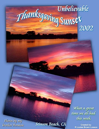 Thanksgaving, 2002